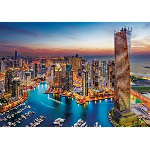 Clementoni - 31814 - Puzzle 1500 pièces - Dubai Marina (427854)