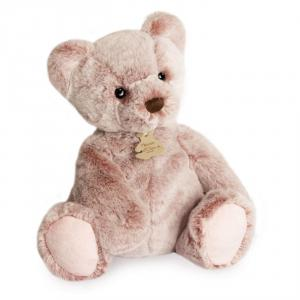Histoire d'ours - HO3017 - Peluche ours mousse modèle moyen - rose cendré - taille 25 cm - boîte cadeau (428206)