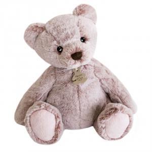 Histoire d'ours - HO3020 - Peluche ours mousse grand modèle - rose cendré - taille 40 cm (428212)