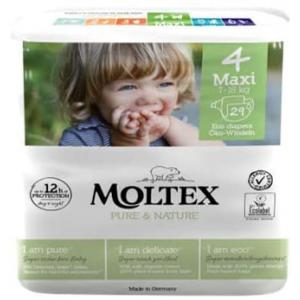 Moltex - 154555 - Pure et Nature - 29 Couches jetables Maxi 7-15 kg (428642)