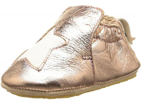 Easy peasy - chaussons en cuir easy peasy - chaussons en cuir