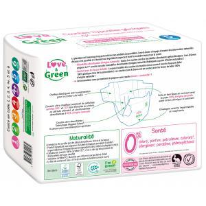 Love And Green - 06LGPJBJUN101 - Couches Bébé Hypoallergéniques 0% - Taille 5 (11-25 kg) (429954)