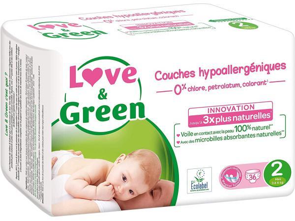 Love and green - 36 couches je love and green - 36 couches je