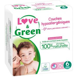 Love And Green - CO1089101 - LOVE AND GREEN - 34 Couches je LOVE AND GREEN - 34 Couches je (429966)