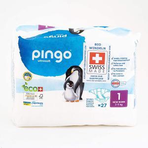 Pingo - 06PCJNB101 - 27 couches écologiques Ultra Soft T1 - 2-5 kg (430102)