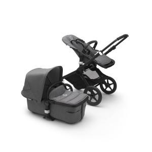 Bugaboo - BU313 - Fox 2 poussette travel pack siège auto turtle - Noir gris chine (430222)