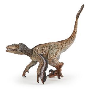 Papo - 55086 - Vélociraptor à plumes - Dim. 18 cm x 6,6 cm x 11 cm (430312)