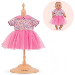 Corolle - 9000110340 - Vêtements pour bébé Corolle 30 cm -  robe rose pays des rêves (430414)