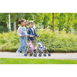 Corolle - 9000140720 - Accessoires pour bébés  36/42 poussette canne rose (430482)