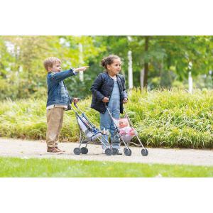 Corolle - 9000140730 - Accessoires pour bébés  36/42 poussette canne bleue (430484)