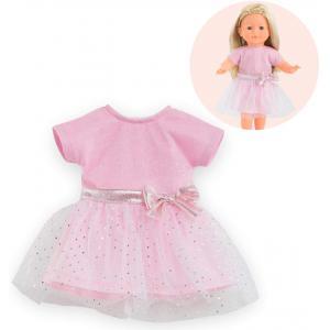 Corolle - 211170 - Les Tenues Complètes Ma Corolle robe à paillettes rose - age 4+ (430534)