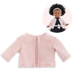 Corolle - 9000211410 - Vêtement pour poupées Ma Corolle gilet rose argenté - taille 36 CM (430540)
