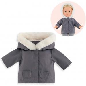 Corolle - 9000211420 - Vêtement pour poupées Ma Corolle parka grise  - taille 36 CM (430542)