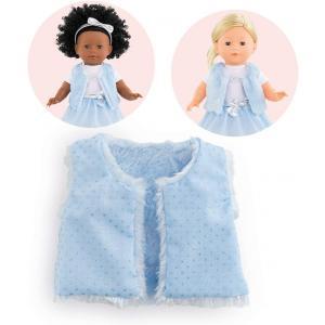 Corolle - 9000211450 - Vêtement pour poupées Ma Corolle veste sans manche fausse fourrure - taille 36 CM (430544)