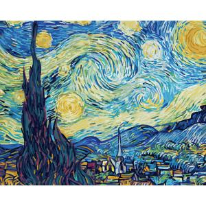 Schipper - 609130816 - Peinture aux numéros - La nuit étoilée 40x50cm (430588)