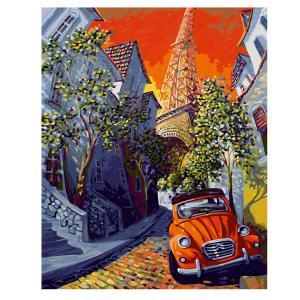 Schipper - 609130820 - Peinture aux numéros - La Petite Citroen Rouge 40x50cm (430594)