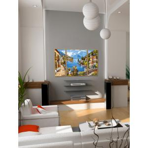 Schipper - 609260818 - Peinture aux numéros - Lac romantique 40x120cm (430604)