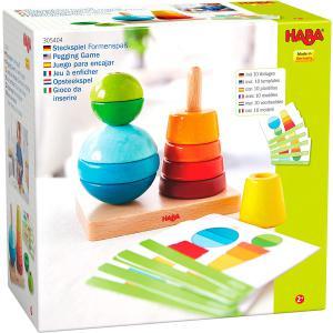 Haba - 305404 - Jeu à enficher Plaisir des formes (430696)