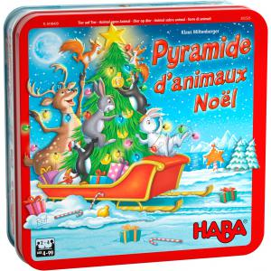 Haba - 305526 - Pyramide d'animaux Noël (431000)