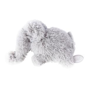 Dimpel - 886119 - Doudou éléphant Oscar grisclair (431120)