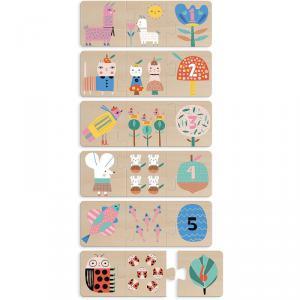 Vilac - 8905 - Puzzles trio Maman-bébé Suzy Ultman (431264)