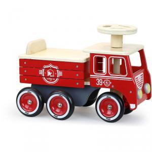 Vilac - 1126R - Porteur camion de pompiers (431342)