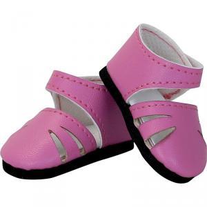 Petitcollin - 603405 - Chaussures à bride coloris rose pour poupée MINOUCHE T34 cm (431388)