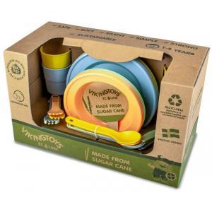 Viking Toys - V20-81404  - ECO - Dinette boîte cadeau x4 enfants (431504)