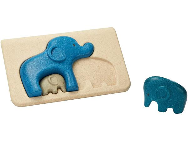 Mon 1er puzzle eléphant
