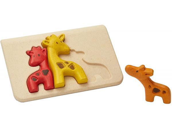 Mon 1er puzzle girafe