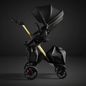 Stokke - BU208 - Poussette Édition limitée Stokke® Xplory® 6 Gold avec ombrelle (432682)