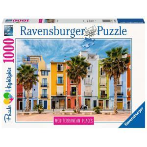 Ravensburger - 14977 - Puzzle 1000 pièces - L'Espagne méditerranéenne (Puzzle Highlights) (432746)