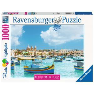 Ravensburger - 14978 - Puzzle 1000 pièces - Malte la méditerranéenne (Puzzle Highlights) (432748)
