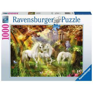 Ravensburger - 15992 - Puzzle 1000 pièces - Licornes dans la forêt (432754)