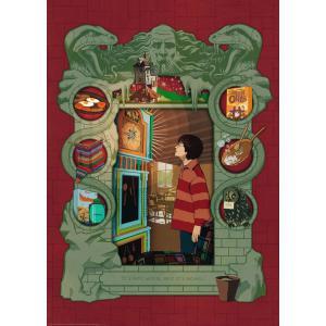 Ravensburger - 16516 - Puzzle 1000 pièces - Harry Potter chez la famille Weasley (432760)