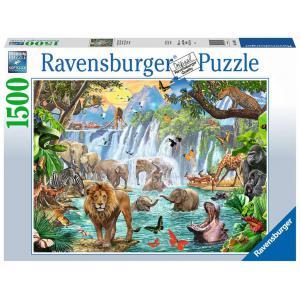 Ravensburger - 16461 - Puzzle 1500 pièces - Cascade dans la jungle (432766)