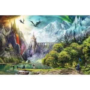 Ravensburger - 16462 - Puzzle 3000 pièces - Règne des dragons (432776)
