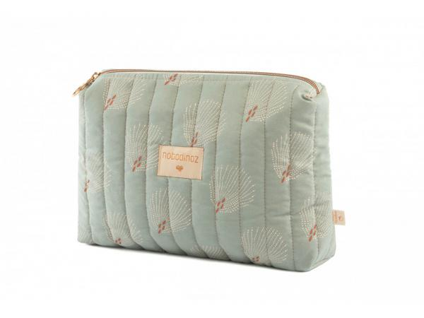 Trousse de toilette travel white gatsby/ antique green