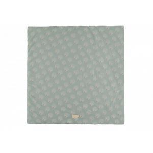 Nobodinoz - N114316 - Tapis de jeu Colorado WHITE GATSBY/ ANTIQUE GREEN (432960)