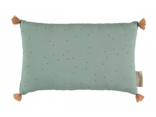 Coussins sublim toffee sweet dots/ eden green