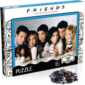 Winning moves - WM00377-ML1-6 - Puzzle friends milkshake 1000 pieces     nouveaute (433120)