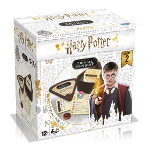 Winning moves - 0485 - Trivial pursuit voyage Harry Potter volume 2 - pack blanc     nouveaute (433150)