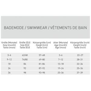 Lassig - 1431001119-06 - Couche maillot de bain filles Madame Mouette 6 mois (433162)