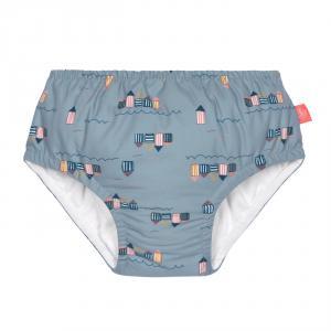 Lassig - 1431001252-06 - Couche maillot de bain 6 mois filles Cabine de plage 6 mois (433168)