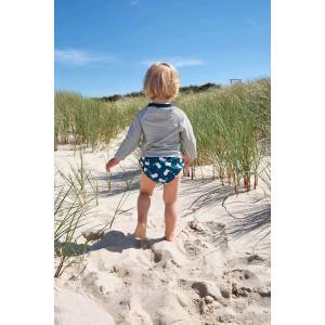 Lassig - 1431002477-12 - Couche maillot de bain garçons Baleine 12 mois (433176)