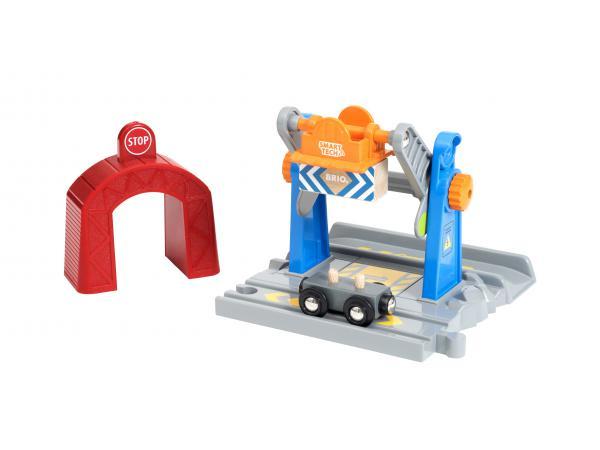 Grue de chargement de marchandises smart tech - thème transport de marchandises - age 3 ans +