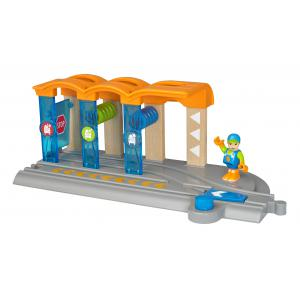 Brio - 33874 - Station de lavage pour locomotive intelligente smart tech - Age 3 ans + (433282)