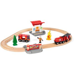 Brio - 33815 - Circuit action pompier - Thème Pompier police - Age 3 ans + (433304)