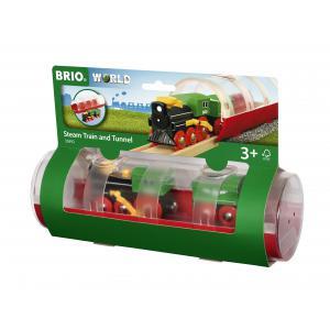 Brio - 33892 - Train a vapeur et tunnel - Thème Exploration - Age 3 ans + (433328)