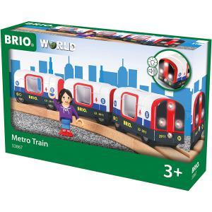 Brio - 33867 - Metro son et lumière - Thème Voyageur - Age 3 ans + (433338)